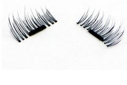 Making False Eyelashes Australia - 4pcs  set 1.6*1.5cm Magnetic Lashes Singel Magnet Fake Eye Lashes Hand Made Strip 2019 False Eyelashes El001