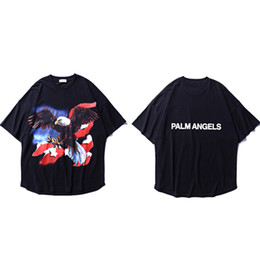 mountain tees NZ - Hip Hop Highest Mountain Palm Angels T Shirts Streetwear 3d Printing Palm Angels T-shirts Palm Angels Top Tees