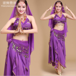 Royal Performance Suits Australia - Indian Dance Dress Adult Women's New Belly Dance Performance Wear Tianzhu Performance Wear Premium Sali Suit Annual Meeting
