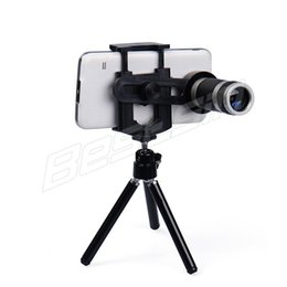 Camera For Telescopes NZ - Bestsin Mobile Phone Lens Universal 8X Zoom Telescope Camera Telephoto Lenses For Iphone X 8 Samsung