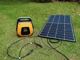 $enCountryForm.capitalKeyWord Australia - power storage,300w portable solar generator camping power emergency backup power,AC and DC output,2 USB 1 LED light