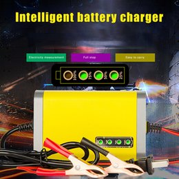 $enCountryForm.capitalKeyWord Australia - Car Motorcycle Battery Charger 12V 2A Full Automatic Smart Power Charger Lead Acid AGM GEL Intelligent LED Display New Arrival