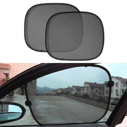 kids blocks wholesale Australia - 1Pair Car Window Sunshade Cover Block For Kids Car Side Window Shade Cling Sunshades Sun Shade Cover Visor Shield Screen