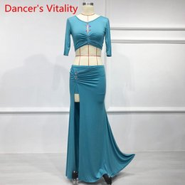 Belly Dancing Suits Australia - Belly Dance Garment New Sexy Dance Women Performance Suit for Female Adults in Spring and Summer of 2019 M,L,XL