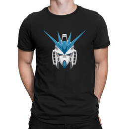 gundam shirt 2021 - Gundam T-Shirt Novelty Cute Euro Size Fitted Men's Tshirt Customized HipHop Tops Nice Tee Shirt
