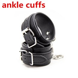 Sale Fetish Toys Australia - Hot Sale Slave Bdsm Hand Cuffs Or Ankle Cuffs Sex Game,Fetish Bondage Restraints Wrist Handcuffs Anklecuffs Sex Toys For Couples