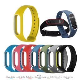 Wholesale 10PCS For Xiaomi Mi Band Strap For Mi Band Silicone Bracelet Replacement Wristband Accessories Colorful wrist