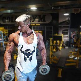 $enCountryForm.capitalKeyWord Australia - 2019 Brand Mens Sleeveless Tank Tops Summer Print Cotton Male Tank Tops gyms Clothing Bodybuilding Undershirt Fitness