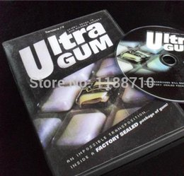 gimmick coin Australia - Ultra Gum with DVD and Gimmick - Coin&Money Magic, Magic Trick