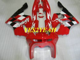 $enCountryForm.capitalKeyWord Australia - Fairing body kit for KAWASAKI Ninja ZX6R 636 94 95 96 97 ZX 6R 1994 1997 ABS Red Fairings bodywork+Gifts KS07