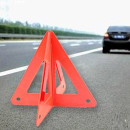 reflective road signs NZ - Car Warning Triangle Reflective Sign Triangle Road Emergency Breakdown Safety Foldable Reflective Roadside Lighting