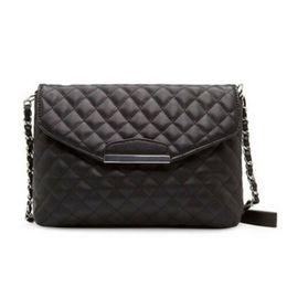 $enCountryForm.capitalKeyWord UK - Lady Fashion Women Handbag Shoulder Bag Leather Messenger Hobo Bag Satchel Purse Tote Chains Solid Hot Formal