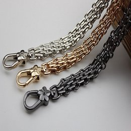 40cm-150cm Fashion Replacement Gold Metal Chain Shoulder Straps For Small Bags Luggage & Bags Handbags 7mm Bag Handles Straps Diy Accessories