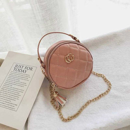 Children Handbags Fashion Korean Baby Girls Mini Princess Purses Lovely girl purse Kids Round Bags Girls Cross-body Bags wallet kid on Sale