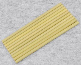 Wholesale Wood Straws drinking straw For Party Home Supplies Wedding Biodegradable Bamboo PC Birthday Organic Tableware Festival
