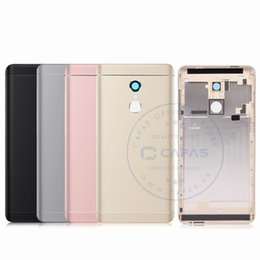 back cover redmi note NZ - Original Xiaomi Redmi Note 4X Back Housing Metal Redmi Note 4X 3GB 32GB Snapdragon Rear Battery Cover Replacement Spare Parts