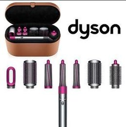 Smooth hair StyleS online shopping - USA AUTHENTIC DYSON AIRWRAP COMPLETE STYLER HAIR STYLING SET PRE STYLING DRYER CURLING BARRELS SMOOTHING BRUSHES VOLUMIZING BRUSH