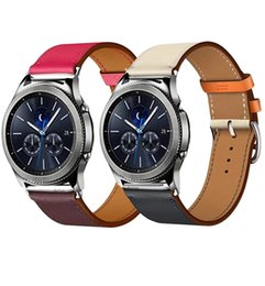 9f7c7f2df Gear S2 Classic Band Australia - Leather huawei gt 2 For Samsung Gear S3 s2  sport