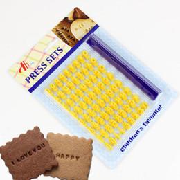 $enCountryForm.capitalKeyWord Australia - Seal English Letter Biscuit Mold Digital Press Cookie Mold alphabet cookie cutter Digital compression mold Cake decoration mould