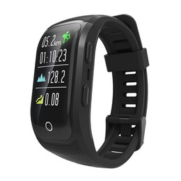 $enCountryForm.capitalKeyWord UK - Waterproof Color Screen Smart Wristband S908S Activity Tracker Sport GPS Smart watch Heart Rate Monitor Fitness Bracelet
