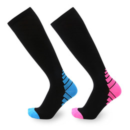 Huf Stockings UK - Knee Pressure Football Stocking 03 - New Anti-skid Cycling Running Outdoor Long Tube Men's And Women's Sports Basketball Socks