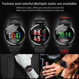 L16 Smart Watch Heart Rate Blood Pressure Measure Sport Fitness Tracker Pedometer smartwatch Color Screen Band For Android IOS Smart phone from purple clocks suppliers