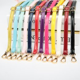 c11a0ee6a1 4 Metal Colors! Adjustable Replacement Shoulder Strap Patent PU Leather Bag  Straps for Purses Handbags Bags DIY Belts 3 Sizes