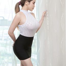 98b6fa3fbc Sexy Women Tight Pencil Cute Skirt Ice Silk See Through Micro Mini Skirt  Transparent Night Club Skirt Fantasy Erotic Wear