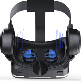 NEW Casque VR Helmet VR Virtual Reality Glasses 3 D 3D Goggles Glasses with Headset For iPhone Android Smartphone Smart Phone Stereo on Sale