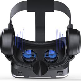 venda por atacado NOVA Casque VR Capacete VR Realidade Virtual Óculos 3 D 3D Óculos Óculos com Fone De Ouvido Para iPhone Android Smartphone Telefone Inteligente estéreo