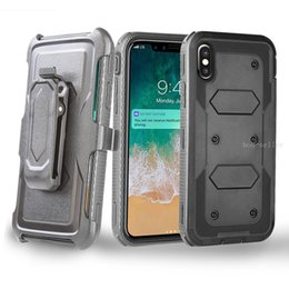 Cell phone Clip Cases online shopping - For iphone Xs Max Xr X plus plus in TPU PC Clip Case Heavy Duty Defender cell phone cases