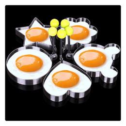 $enCountryForm.capitalKeyWord Australia - Fried Egg Pancake Shape Kitchen Tool Stainless Steel Shape Mold Kitchen Rings Heart Hot Sale