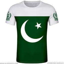 $enCountryForm.capitalKeyWord Australia - PAKISTAN t shirt diy free custom name number pak t-shirt nation flag islam arabic islamic pk pakistani arab print photo clothing
