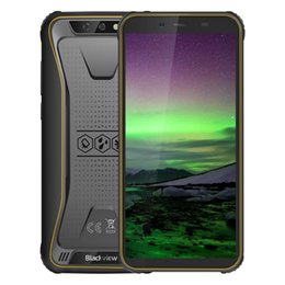 "Chinese Gps Outdoor Australia - Blackview Original BV5500 5.5"" IP68 Waterproof Rugged Smartphone 2GB+16GB Android 8.1 Dual SIM 4400mAh 18:9 Outdoor Mobile Phone"