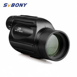 camping hiking telescope UK - Svbony Monocular 13x50 SV49 High Power Binoculars Waterproof Telescope for Hiking Hunting Camping BirdWatching Tourism
