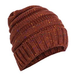 008467cd63c1f5 Fashion Warm Winter Women's Beret Braided Baggy Knit Crochet Beanie Hat Cap  Beige Gray Red