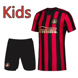 12e1bd588 2019 2020 MLS kids kit Atlanta United soccer Jerseys 19 20 VILLALBA  G.MARTINEZ Football Shirts 19 20 MLS soccer Jerseys Running Clothing