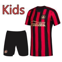 12e1bd588 2019 2020 MLS kids kit Atlanta United soccer Jerseys 19 20 VILLALBA  G.MARTINEZ Football Shirts 19 20 MLS soccer Jerseys Running Clothing