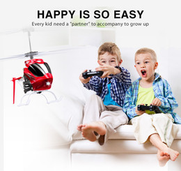 $enCountryForm.capitalKeyWord NZ - 2CH W25 Electric Indoor Mini RC Drone Aircraft Remote Control Helicopter Shatterproof Flying Toys Model TSLM1