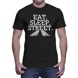 01677d79 Mens purple Muscle shirt online shopping - Eat Sleep Street Cars Racing  Drag Clutch Muscle Classic