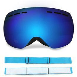 ff5ec86b974 Ski Goggles Double Layers Anti-fog Big Ski Mask Glasses Ski Professional  Snow Eyewear Low Price And High Quality Original Magnetic Lenses
