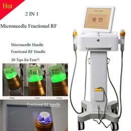 Wholesale RF face lifting machine Micro needle fractional rf skin care machine Fractional micro needle RF equipment