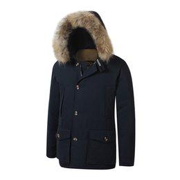 $enCountryForm.capitalKeyWord Australia - 2019 Brand New woolrich Removeable Raccoon Fur Mens Arctic Down Parka Warm JACKET thick outdoor Winter Coat