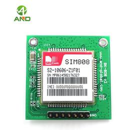 Drive Gps Australia - Freeshipping SIM808 GSM GPRS GPS Module Quad Band,sim808 Development Board,BK-SIM808 support etooth