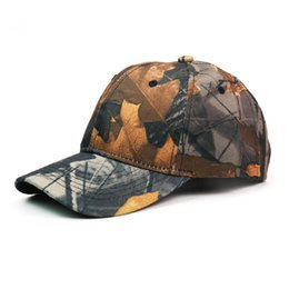 fitted tactical hats UK - Outdoor Mens Military Bionic Camouflage Baseball Cap Jungle Tactical Hunting Hat for Hunter