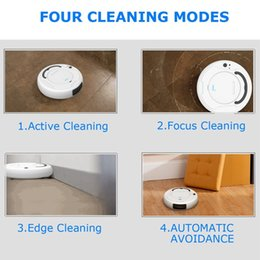 vacuum cleaners sales NZ - Hot Sale 1800Pa Multifunctional Smart Floor Cleaner,3-In-1 Auto Rechargeable Smart Sweeping Robot Dry Wet Sweeping Vacuum Cleane