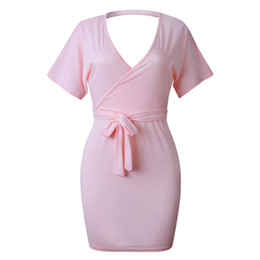 Fashion Trends Lace Dress NZ - Spring And Summer Sexy Halter Laced Hip Dress Fashion Female Style Popular Trend High Quality jooyoo