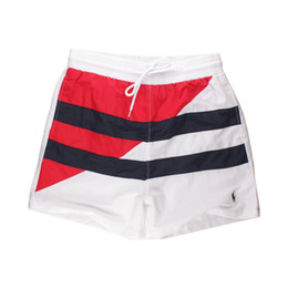 $enCountryForm.capitalKeyWord Australia - New Fashion Small Horse luxury Mixed stitching Men's Beach shorts Embroidery Beach Surf Swim man Sport Casual Swimwear