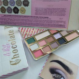Hot Bar Australia - HOT makeup palettes Faced White Chocolate Bar Eyeshadow Limited Edition Holiday 16 Color Eyeshadow plates DHL Free shipping