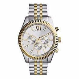Red Certification UK - Lexington Chronograph Gold-tone Black Dial Mens Watch 8280 8281 8286 8313 8319 8320 8405 8157 8344 with box and certification